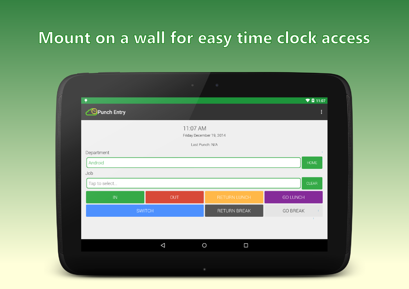 On-Time Web Time Clock