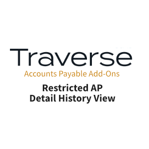 TRAVERSE Mods AP Restricted Detail History View