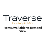 TRAVERSE Mods Available vs Demand View