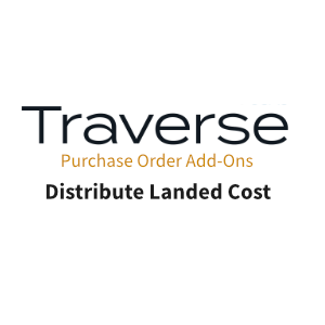 TRAVERSE Mods Distribute Landed Cost