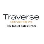 TRAVERSE Mods BIS Tablet Sales Order